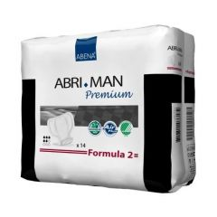 Abena From: 41007 To: 41071 - Abri Man Male Guard Formula 2 Abri-Form Premium Adult Briefs, Completely Breathable