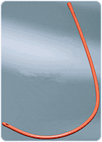 Bard / Rochester Medical - 8007410 - Long Colon Tube With Funnel End, Rubber
