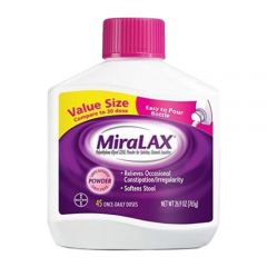 Bayer - 41100568007 - Miralax 45 Day EZ Pour