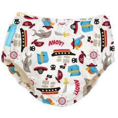 Charlie Banana From: 8870102 To: 8870104 - Reusable Swim Diaper Pirate