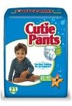 Cutie Pants - CR7008 - Cuties Refastenable Training Pants For Girls 2t-3t, Up To 34 Lbs.