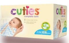 First Quality - Cuties Complete Care - From: CCC10 To: CCC17 - Diaper
