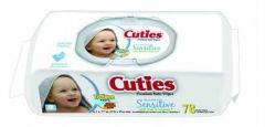 First Quality - CR-16413/3 - Cuties Baby Wipes Unscented