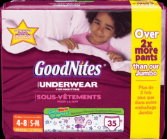 GoodNites From: 21720 To: 43365 - Goodnites Girls