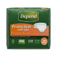 Kimberly Clark From: 35445 To: 35446 - Depend Adjustable Max Absorbency Underwear