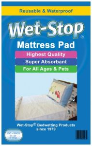 Potty MD - WS-WPAD - Wet-stop Waterproof Bedding - Mattress Pad With Wings