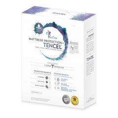 Pure Care - From: TENCELMP33 To: TENCELMP78 - Tencel 5-sided Mattress Protector